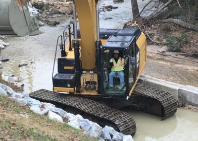 Trumpet Branch Sanitary Sewer Rehabilitation and Creek Restoration